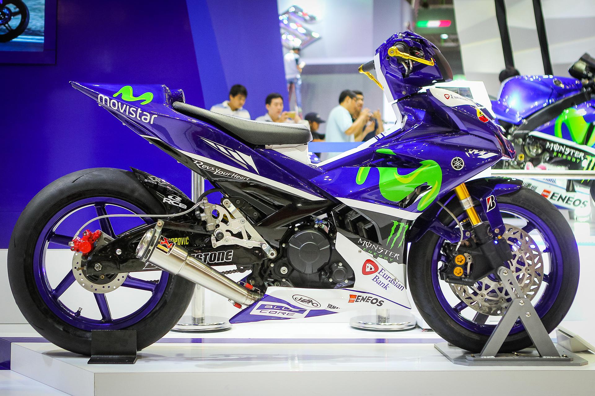 Chi tiết Exciter 150 độ phong cách siêu môtô YZR-M1