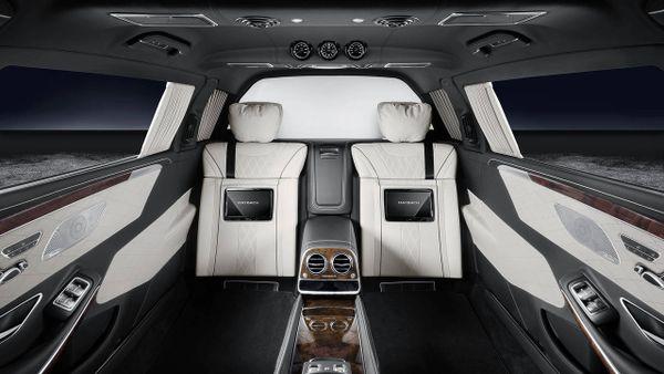 Mercedes-Maybach S600 Pullman Guard - Chiếc limousine chống đạn siêu sang