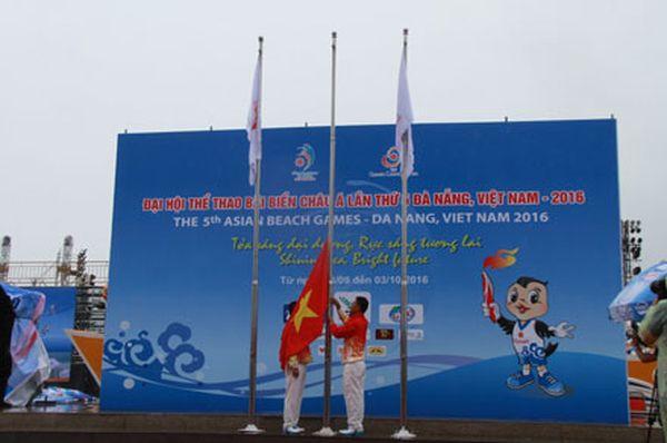Đà Nẵng sẵn sàng cho Đại hội Thể thao bãi biển Châu Á lần thứ 5