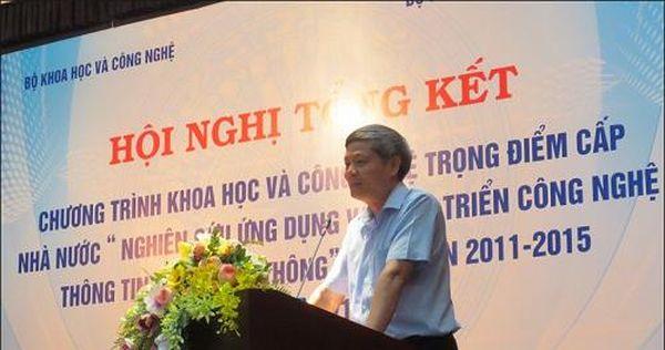 Thông minh hóa hạ tầng ICT là một trong 4 xu hướng nghiên cứu của Việt Nam đến 2020