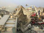 Động đất Đài Loan: ít nhất 2 người chết, nhiều tòa nhà đổ sập