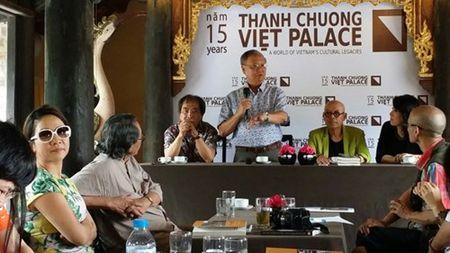 Hoa sy Thanh Chuong nghen ngao noi ve 15 nam xay dung Viet phu - Anh 1
