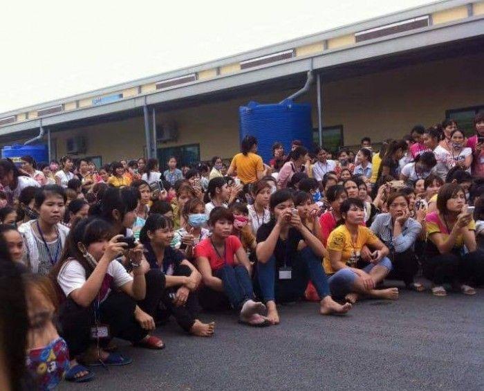 Phu Tho: Hang nghin cong nhan dinh cong vi com co doi - Anh 1