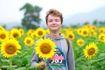 Hình ảnh phá hoại đồng hoa dướng dương Nghệ An bị chỉ trích