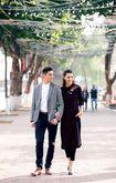 Hồng Quế đón tết Hà Nội với trai ngoại quốc