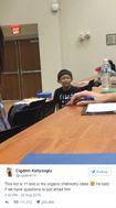 Sinh viên sốc nặng khi phải học chung lớp với cậu bé thần đồng 11 tuổi