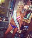 Chris Brown bị bắt vì chĩa súng vào cựu Hoa hậu California