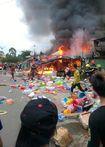 Cháy lớn trong làng ĐHQG TPHCM, hàng ngàn sinh viên hoảng loạn
