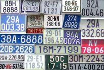 Biển kiểm soát xe ở Việt Nam có gì mới?