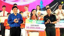 Nữ sinh Thái Nguyên đoạt giải nhất Hành trình Bài ca sinh viên