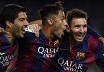 """""""Messi, Neymar và Suarez như những nữ danh ca''"""