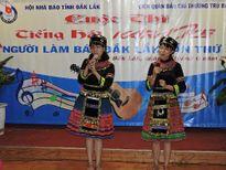 Báo Tầm Nhìn đoạt giải nhì tiếng hát người làm báo tại Đắk Lắk
