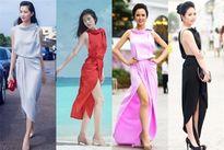 """Nhiều sao Việt """"đụng"""" váy áo trong hè 2015"""