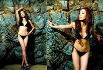 Mỹ nhân xứ Cảng thơm khoe đường cong với bikini