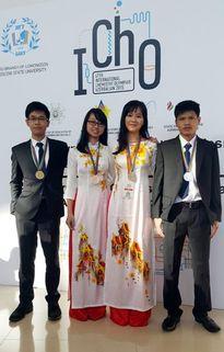 Việt Nam đoạt 4 huy chương Olympic Hóa học quốc tế
