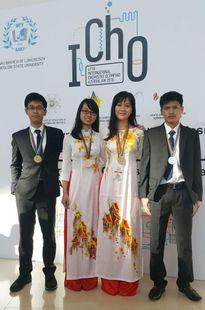 Việt Nam đoạt 4 huy chương trong Olympic Hóa học quốc tế