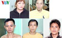 Băng nhóm chuyên cướp tài sản của công nhân sa lưới