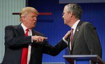 Donald Trump bùng nổ, Jeb Bush nhạt nhòa