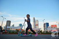 """Sài Gòn: Trẻ con """"thật đã"""" với những sân chơi miễn phí"""