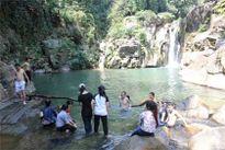 Khám phá thác Lũng Ồ - Quảng Ngãi