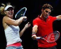 Federer, Sharapova công bố sân chơi đầu tiên trong năm 2016