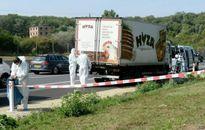 Nhận dạng 50 thi thể trong xe tải bên đường