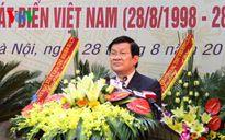 Chủ tịch nước trao tặng danh hiệu Anh hùng cho Cảnh sát biển Việt Nam