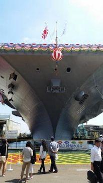 """Nhật Bản hạ thủy tàu sân bay Kaga """"gây tổn thương người Trung Quốc"""""""