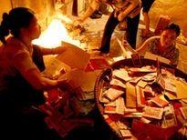 Tinh thần của Phật giáo là không đốt vàng mã