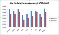 Tỷ giá USD/VND hôm nay (28/08): Lao dốc