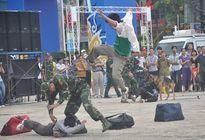 Xem chó nghiệp vụ truy đuổi tội phạm ở Hà Nội