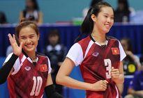 """Chiều cao của ĐT bóng chuyền nữ Việt Nam Đạt các mốc """"khủng"""""""