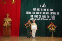 Trao tặng đồng chí Đặng Thọ Truật danh hiệu Anh hùng LLVT nhân dân