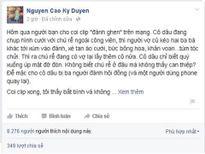 MC Kỳ Duyên cảm thông với người đàn bà bị đánh ghen