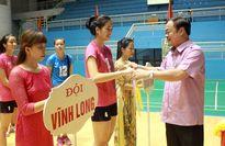 VCK giải bóng chuyền hạng A toàn quốc 2015: Hà Ngọc Diễm xuất trận