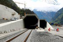 Đường hầm dài nhất thế giới chính thức hoàn thành tại Thụy Sỹ