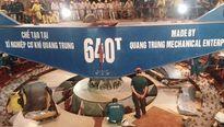 Hạ thành công rô-to trên 500 tấn tại thủy điện Huội Quảng