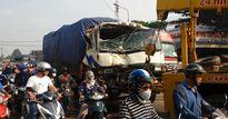 Đồng Nai: Tai nạn liên hoàn, 2 xe cứu hỏa hư hỏng nặng