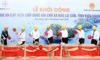 Khởi công đường điện dây vượt biển dài nhất Việt Nam