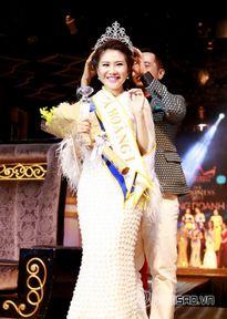 Nhất Hương xuất sắc giành ngôi vị Á hoàng cuộc thi Nữ hoàng Doanh nhân 2015