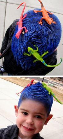 Những kiểu tóc 'có một không hai' của giới 'nhất quỷ nhì ma'