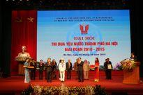 Đại hội Thi đua yêu nước TP Hà Nội giai đoạn 2010-2015 thành công tốt đẹp!