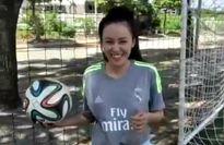Bà Tưng mê Ronaldo, 'đặt cửa' ĐT Việt Nam hạ Thái Lan