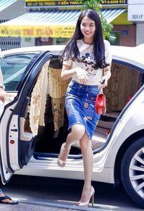 Những kiểu chân váy mặc là đẹp của Hoàng Thùy Linh, Tóc Tiên