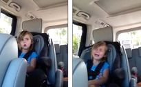 Clip: Phản ứng siêu dễ thương của cô bé khi biết thần tượng lấy vợ