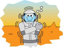 """Sao Hỏa """"từ chối"""" con người Trái Đất"""