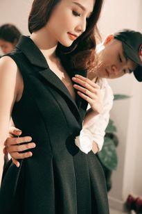Đỗ Mạnh Cường chăm chút trang phục cho Diễm My 9X