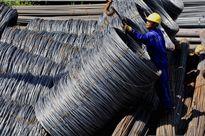 Giá bán thép thành phẩm trên thị trường nội địa liên tục giảm