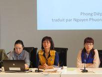 Nhà văn Việt dự tọa đàm tại Pháp