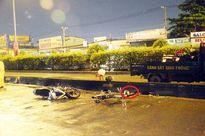 TPHCM: Truy tìm ô tô cán chết 2 người rồi bỏ trốn